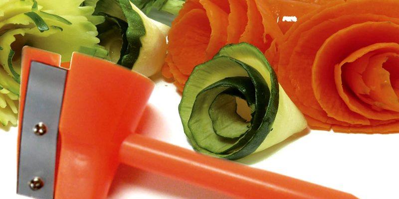 vegetable sharpener with vegetable art